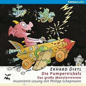 Das große Monsterrennen (Die Pumpernickels 3) Hörbuch