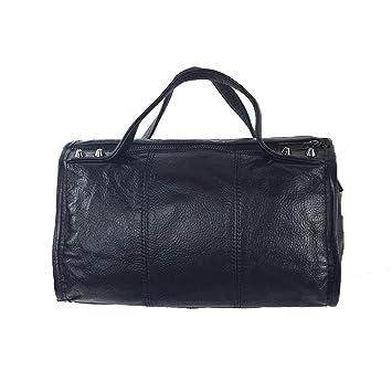 Amazon.com: Handbags Leather Bag Bolsas Pillow Purse 27CM ...