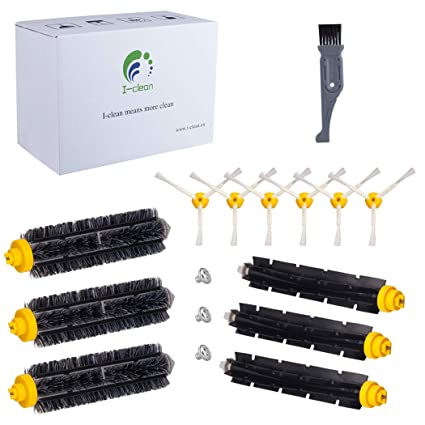 I clean Replenishment iRobot Roomba 690 650 Parts/Attachments, Replacement  Brushes Fit with iRobot Roomba 630 760 770 780 790 (600&700 Series) Vacuum
