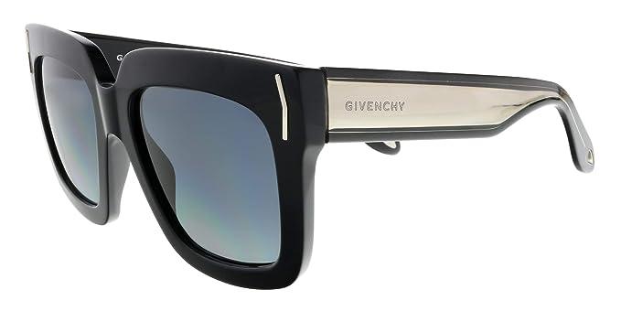 Amazon.com: anteojos de sol Givenchy 7015/S 0udu Negro/HD ...
