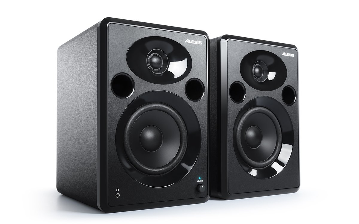 Alesis ELEVATE 5 MKII | Powered Desktop Studio Speakers for Home Studios/Video-Editing/Gaming and Mobile Devices inMusic Brands Inc.