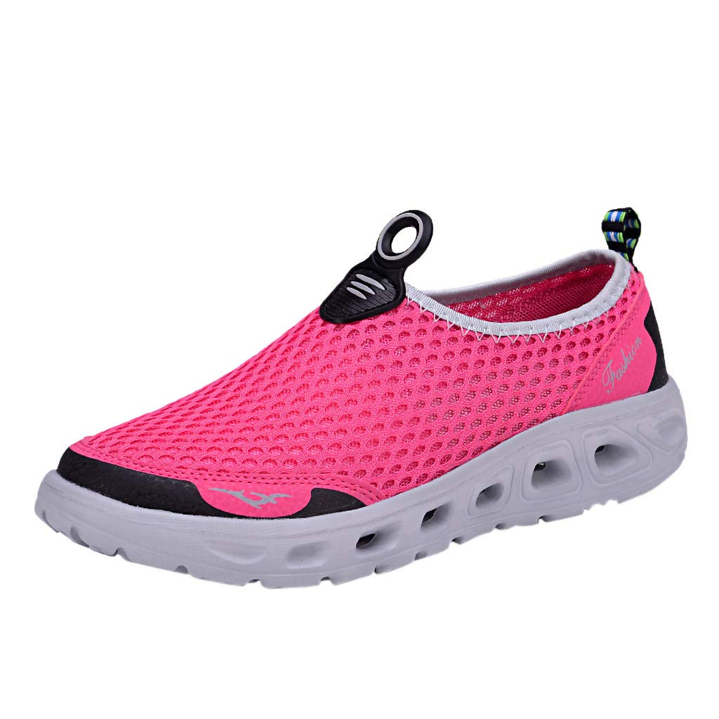 Female Summer Casual Quick Drying Water Shoe Breathable Lightweight Non-Slip Slip-on Diving Shoe Women Aqua Shoes