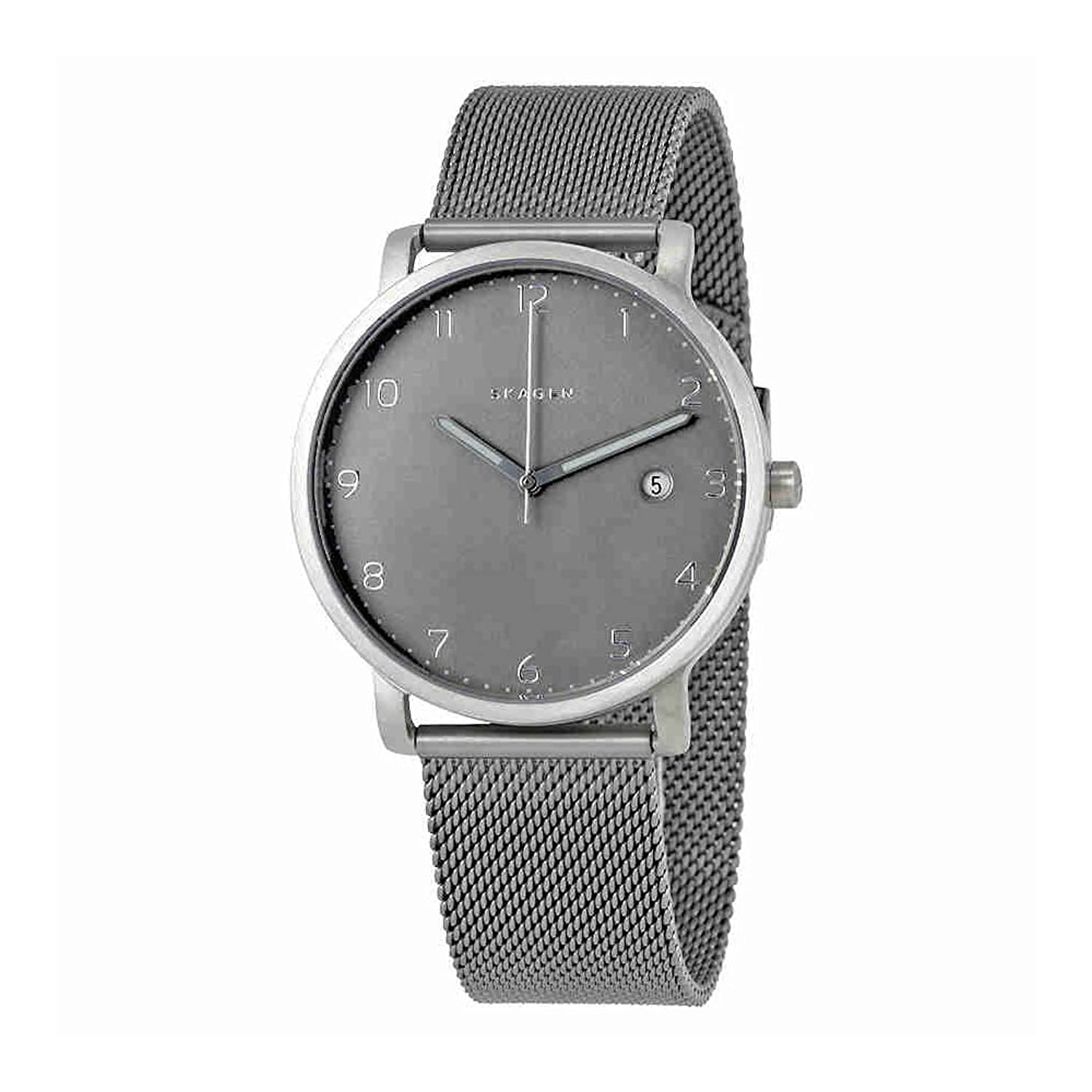 skagen mesh grey dress men s band ancher watches hagen watch youtube
