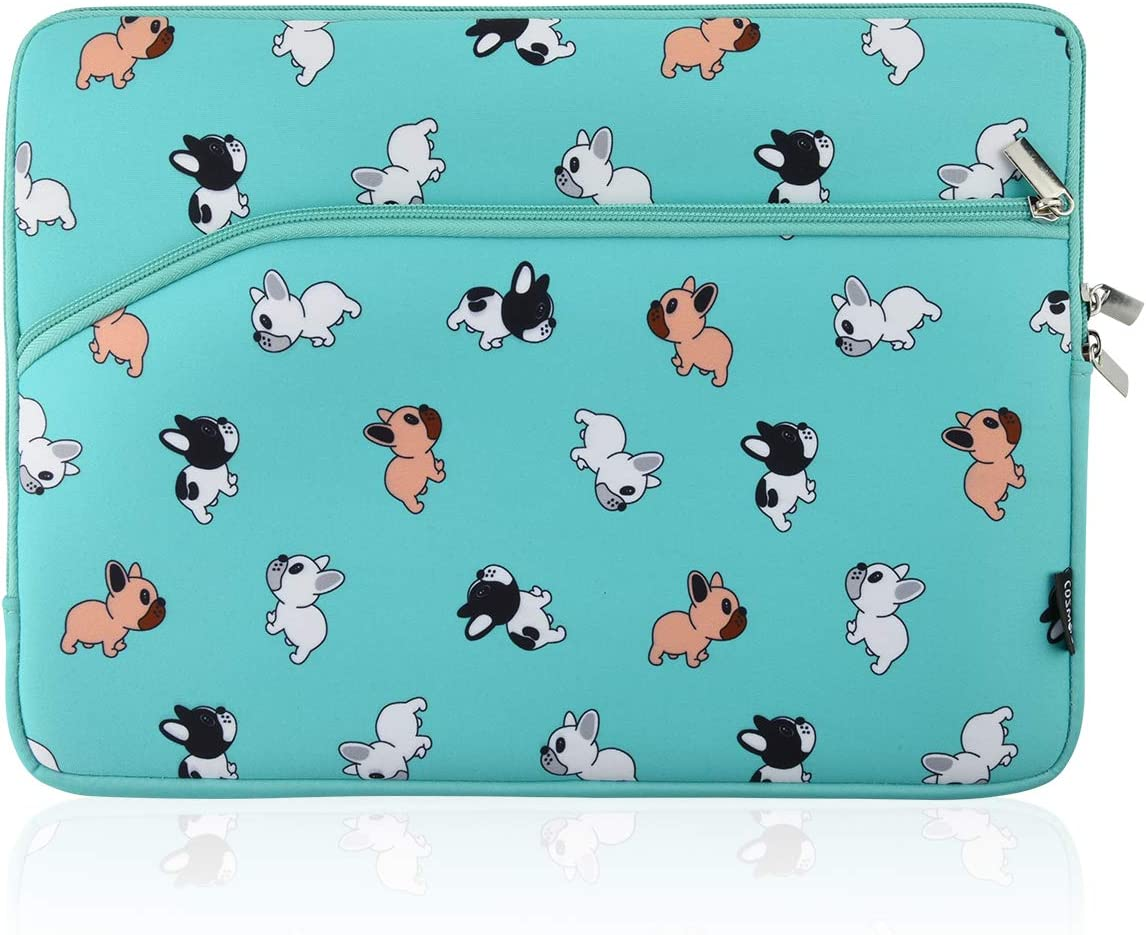 """Cosmos Neoprene Notebook Protective Sleeve Case Laptop Cover Bag for Old MacBook Pro 13"""" / Old MacBook Pro Retina Display 13"""" / MacBook Air 13"""" (Puppy Dog Pattern)"""