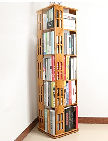 Anna Display Shelves TH Modern Minimalist Bookshelf 360 Degrees Rotate Bookcase Creative House Objects Shelf Home & Anna Display Shelves TH Modern Minimalist Bookshelf 360 Degrees ...