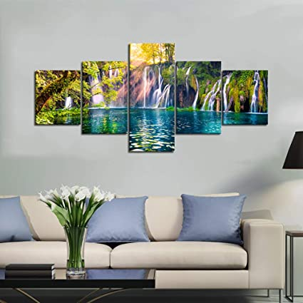 Home & Garden 100%handmade High Quality Art Abstract Landscape Oil Painting On Canvas Handmade Beach Chair Painting For Wall Artworks Fragrant Aroma