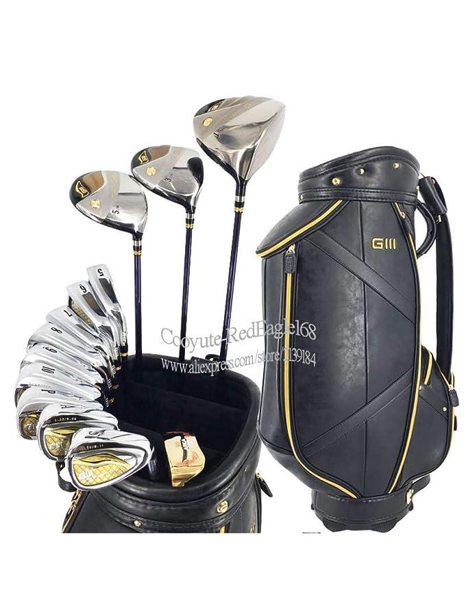 HDPP Club De Golf Hombres Palos De Golf Juego Completo De ...