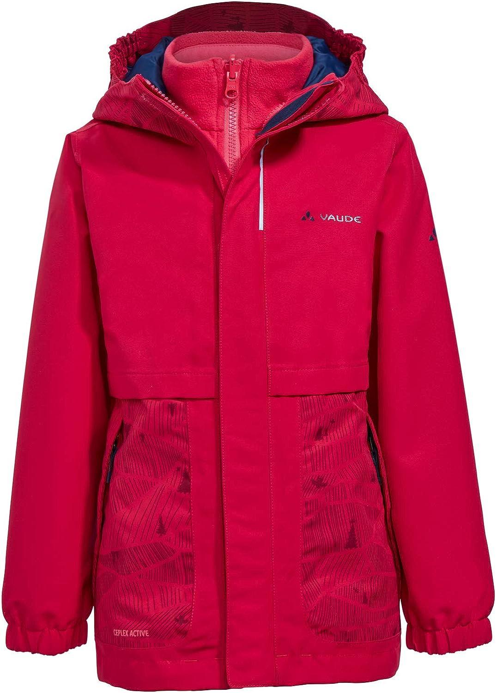 Chaqueta Unisex ni/ños VAUDE Kids Campfire 3in1 Jacket Girls
