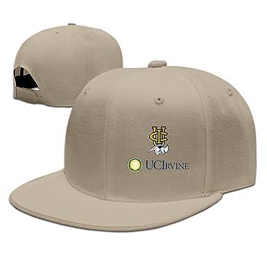 fd52740fc5 University Of Californi UC Irvine Public Ivy Logo Useful Snapback Hats -  Brown -  Amazon.co.uk  Clothing