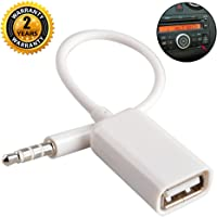 Aux to USB Adapter 3.5mm Macho Aux Audio