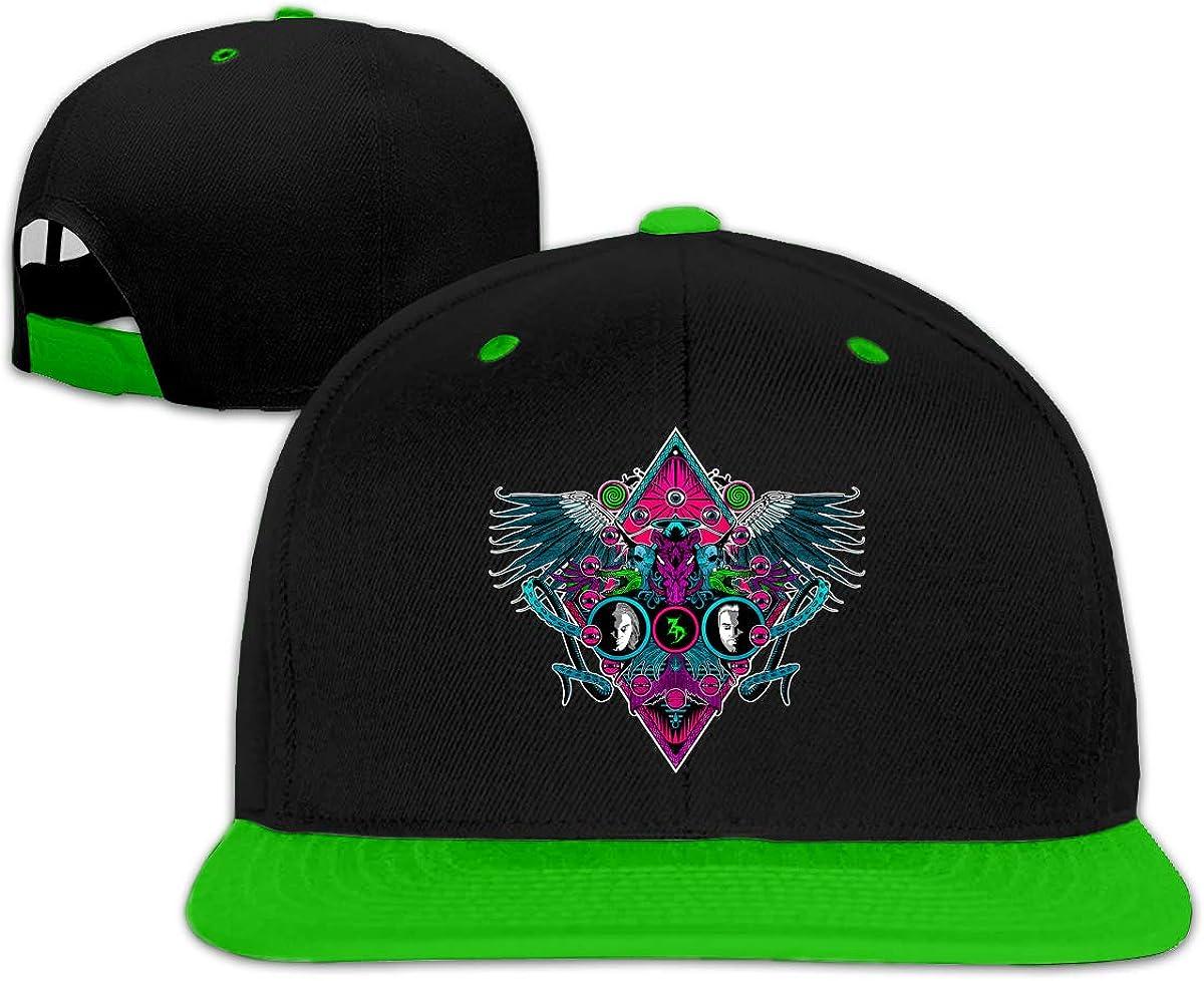 MoniqueABeech Zeds Dead Adjustable Unisex Women Men Cap Cool Hip-hop Baseball Hat Green