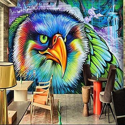 Tianxinbz Custom Hd 3d Colors Owl Gothic Graffiti Tv Bar