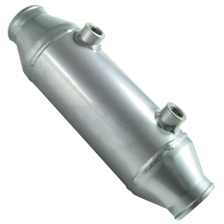 in Alluminio 340 mm x 100 mm Radiatore di Ricarica raffreddato ad Acqua dpPerformance Rotondo