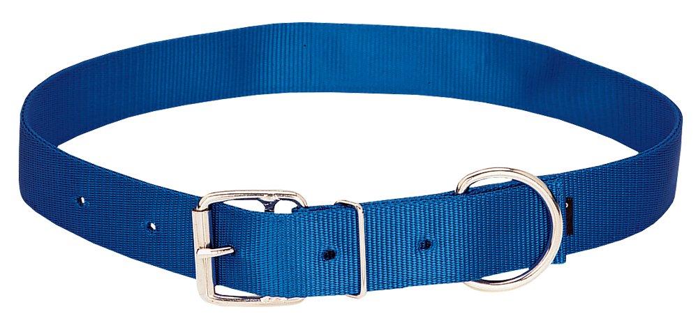Blue Large Blue Large Weaver Leather Nylon Neck Strap