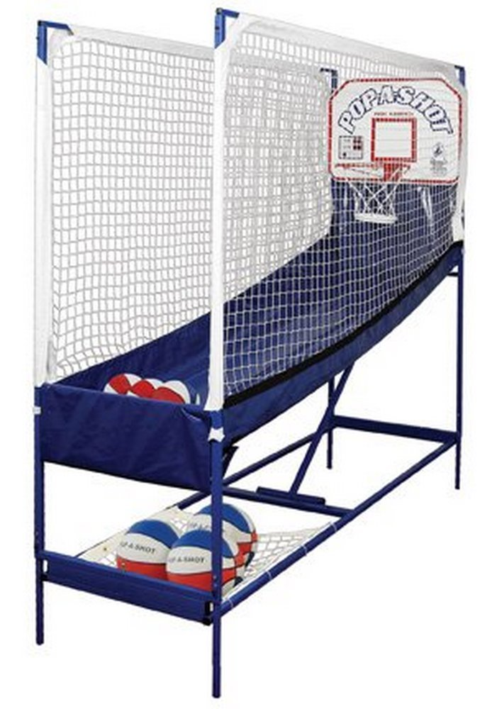 First Team Pop-A-Shot Premium Home Electronic Basketball Game by First Team