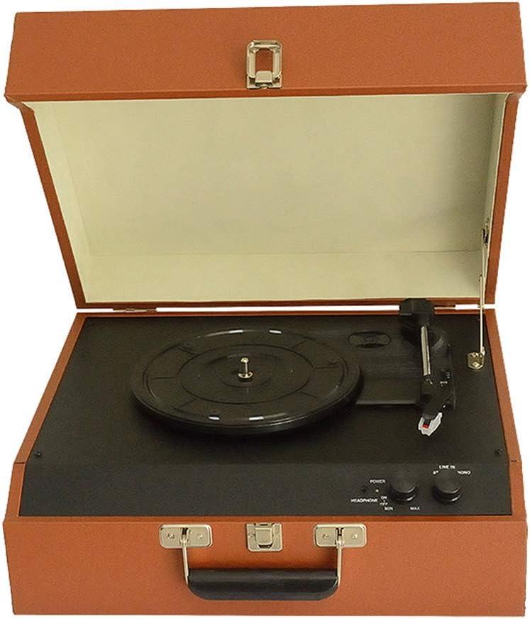 AIBAB Tocadiscos De Vinilo Gramófono Retro Vintage Portátil ...