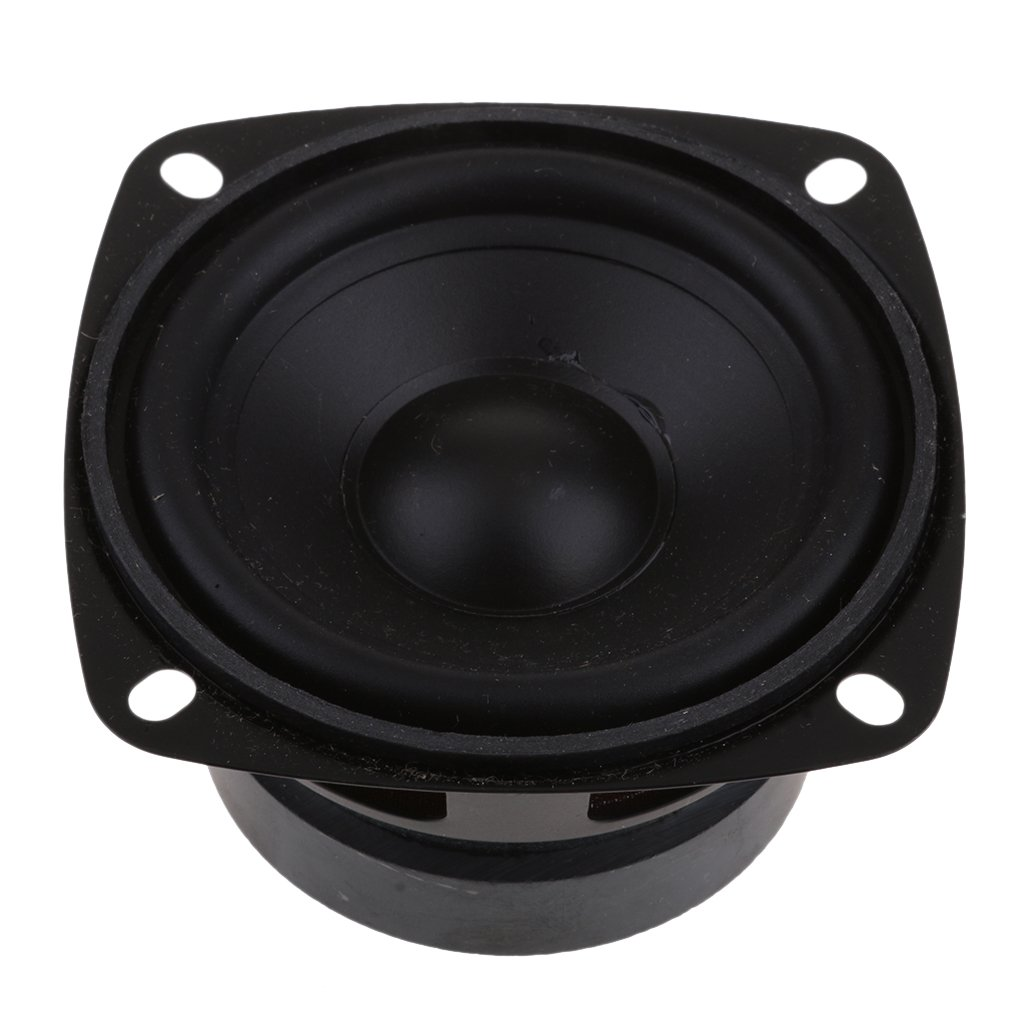 MagiDeal 15W Stereo Audio Speaker 3'' Inch 4Ohm Full-range DIY Waterproof Loudspeaker