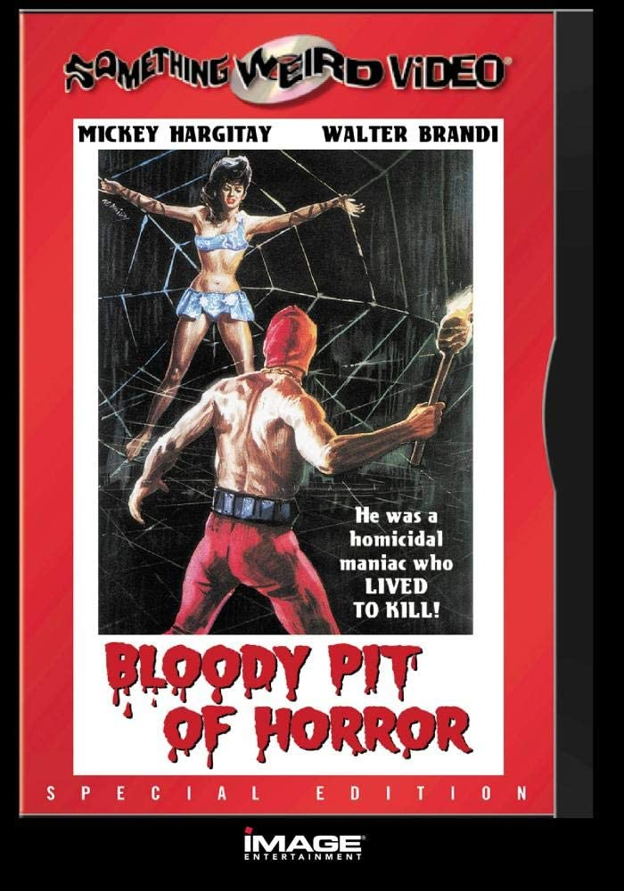 Bloody pit of horror Cult Horror movie poster print 1965 Il Boia scarlatto