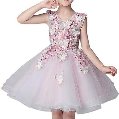 LADYLUCK Vestido Fiesta Niña Princesa Bebé Disfraz De ...