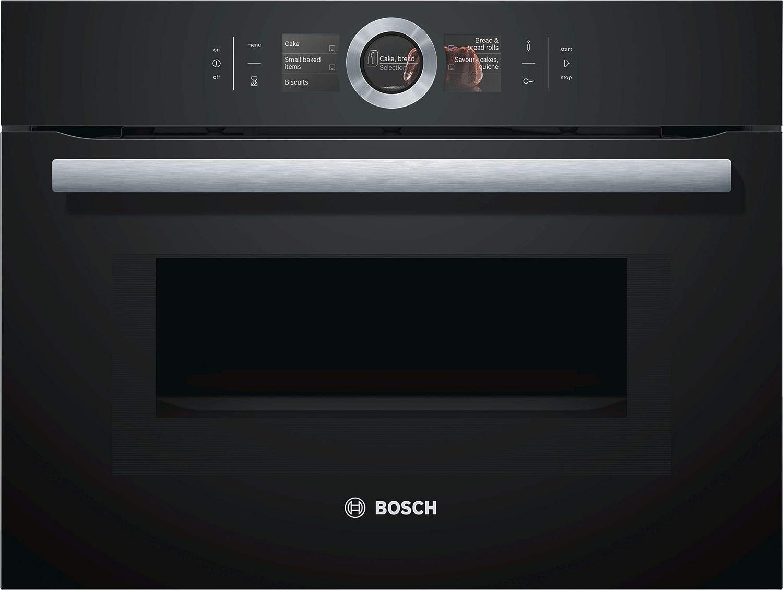 Bosch CMG6764B1 - Horno (Horno eléctrico, 45 L, 45 L, 30-300 °C ...
