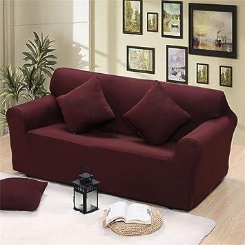 Lingjun Hülle Abdeckung Für Sofa Dunkle Farbe Puro Mit Elastischem