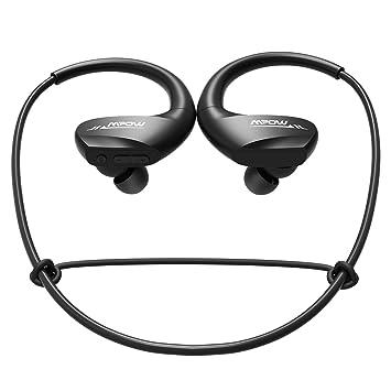 Mpow Auriculares Bluetooth inalámbrico Sport Negro: Amazon.es: Electrónica