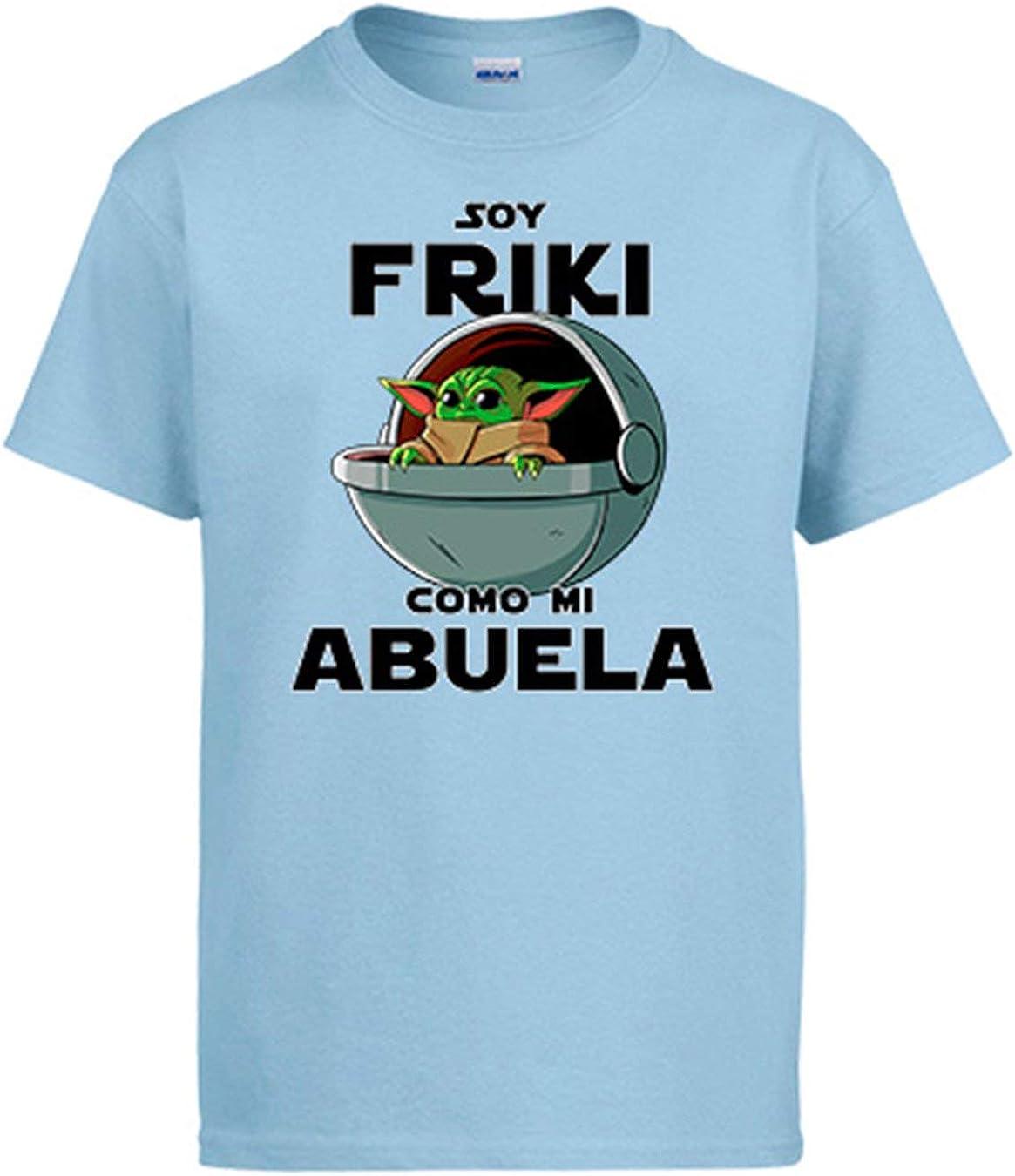 Diver Bebé Camiseta Soy Friki como mi Abuela ilustración Baby Yoda: Amazon.es: Ropa y accesorios