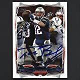 #7: Tom Brady Autograph Signed 2014 Topps Card #52 Patriots Nice!
