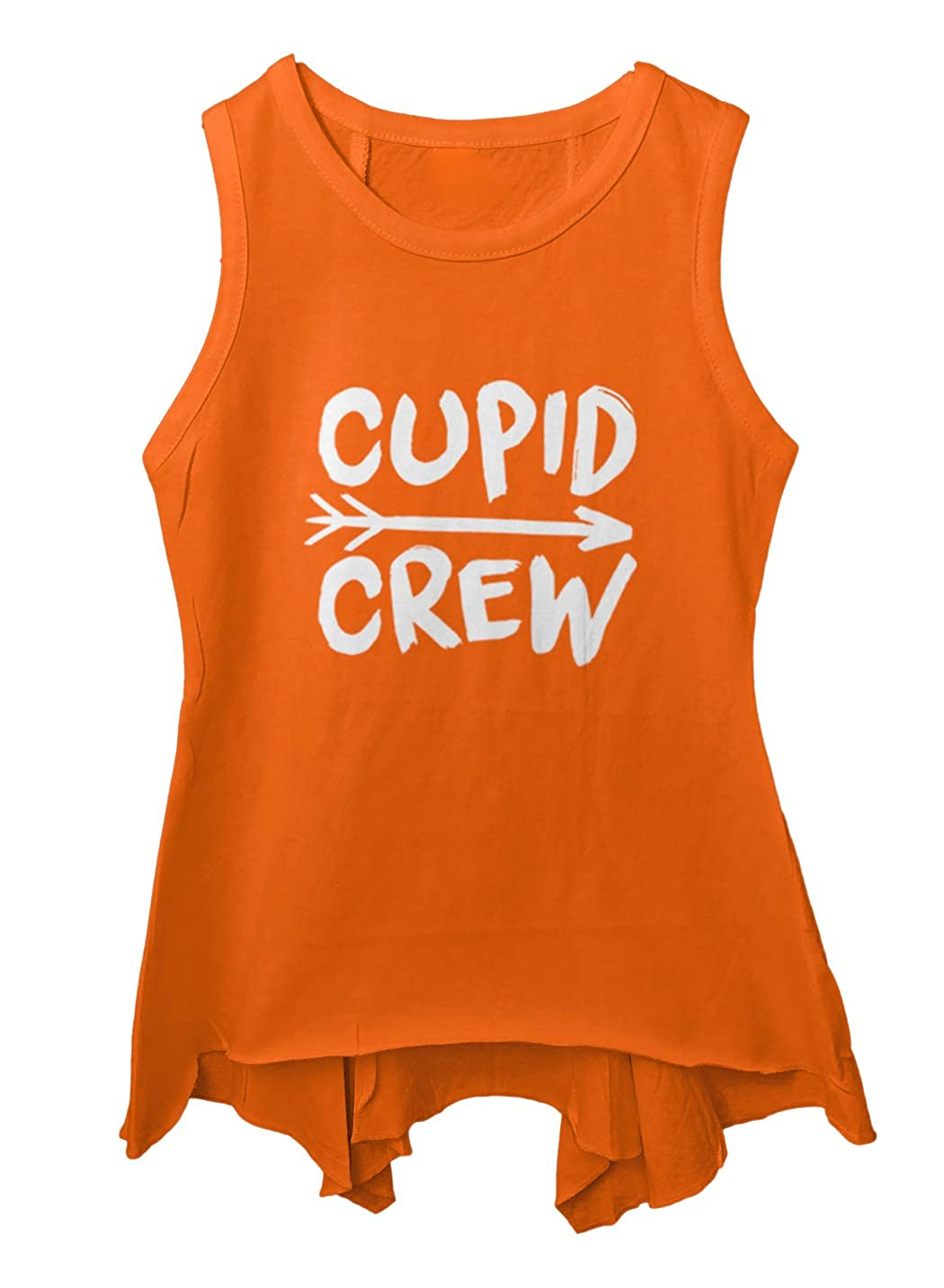 Cupid Crew Love Heart Cute Toddler//Youth Sleeveless Backswing