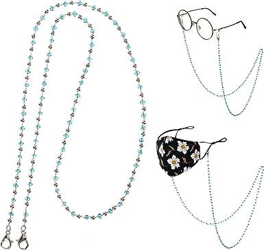 Eyeglass Chain Mask Chain Katie Chain Heishi Bead Sunglass chain
