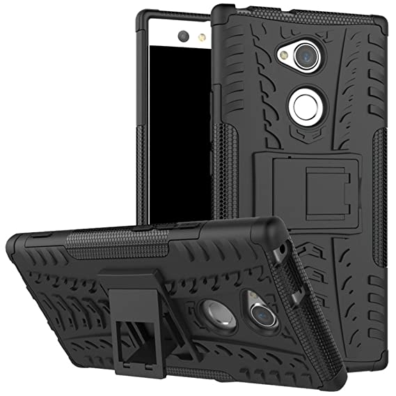 huge discount 33cbf c14c0 Sony Xperia XA2 Ultra case,Yiakeng Dual Layer Shockproof Wallet Slim  Protective with Kickstand Phone Case Cover for Samsung Xperia XA2 Ultra  Dual,Sony ...