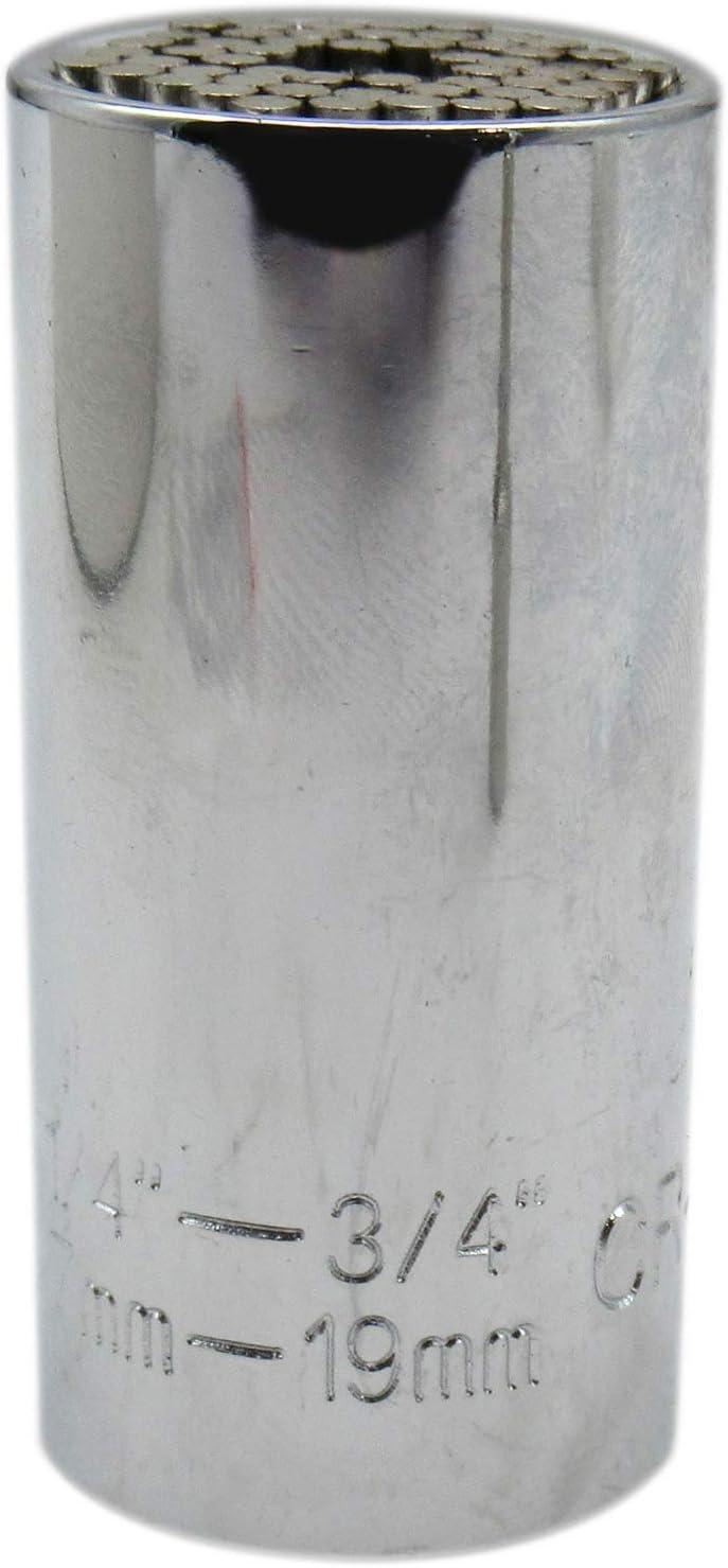 Premium Universal Socket Grip Tool Gifts for Men Dad Super Socket Set Multi-Function Socket Wrench with Power Drill Adapter Ratchet Gadgets Gifts for Men Husband Boyfriend Women DIY Handyman