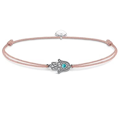 Thomas Sabo Women-Bracelet Little Secrets 925 Sterling silver blue LS009-907-31-L20v OUfXQKX