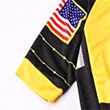 USA Cycling Jersey Men MTB Road Bike Shirt Summer
