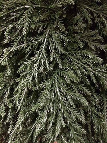 Artificial-UV-Rated-Outdoor-30-Ball-Cypress-Topiary-Tree-Bundled-with-Rock-Planter-Cover-by-Silk-Tree-Warehouse