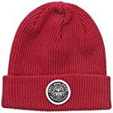 Image of Obey Men's Classic Patch Beanie, Red, One Size