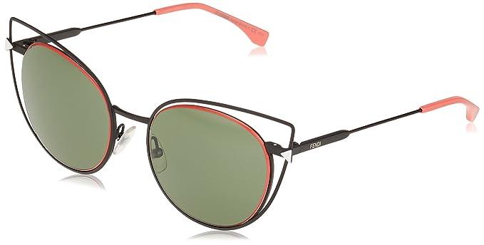 06e5e62e632 Fendi Sonnenbrille FF0176S-003-53 Montures de lunettes Noir (Schwarz ...