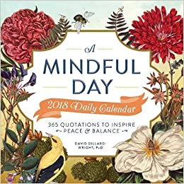 A Mindful Day 2018 Daily Calendar: 365 Quotes to Inspire Positive