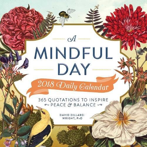 A Mindful Day 2018 Daily Calendar: 365 Quotes to Inspire Positive Energy (Daily Positive Calendar 2018)