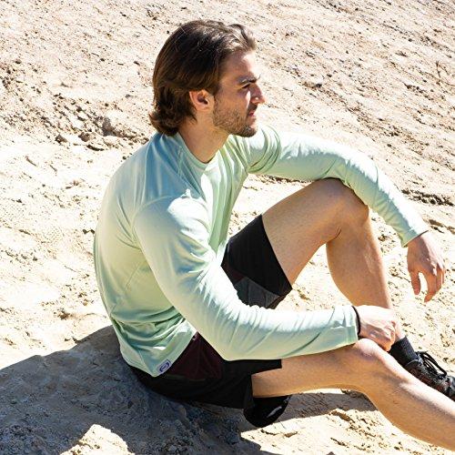 Apparel Performance Upf Longues Sauge Solaire À Homme shirt T Solar 50 Vapor Protection Manches B1RHwRq