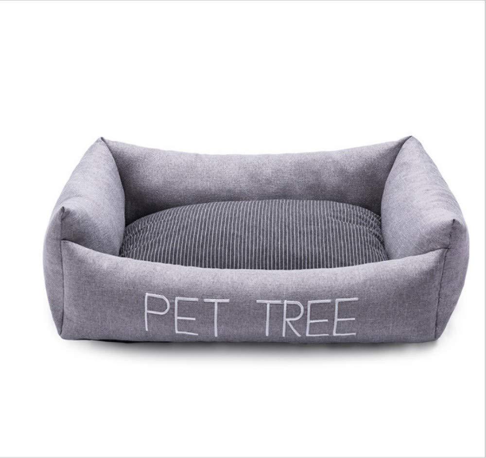 A 30X40CMGZDXHN Dog House Pet Nest Winter Warm Washable Small And Medium Dog Kennel Dog Mat A