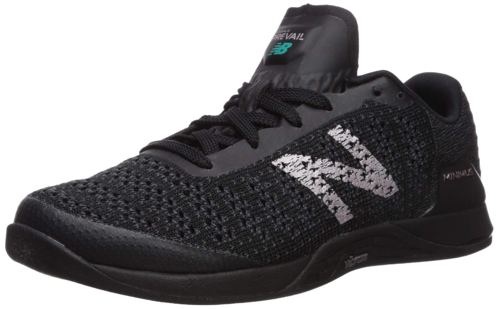 New Balance Women's Prevail V1 Minimus Track and Field Shoe, Black/Magnet, 7.5 M US by New Balance