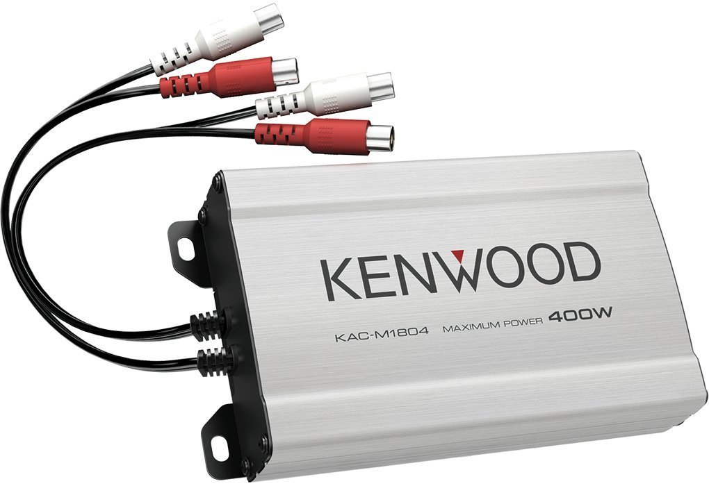 Kenwood Compact 4-channel Amplifier