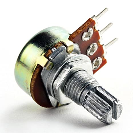 5 X 250K 16mm Lineal Potenciómetro Pote con Interruptor