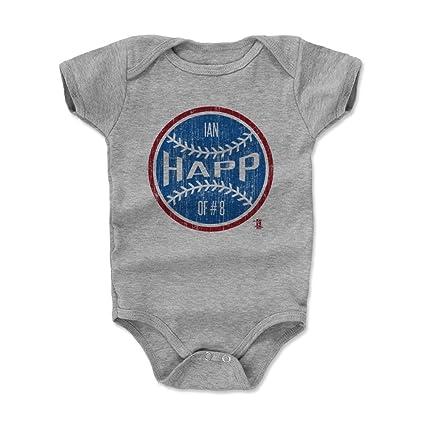 buy popular 17b06 7511d Amazon.com: 500 LEVEL Ian Happ Baby Clothes & Onesie (3-6, 6 ...