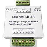 LEDENET® RGBW Amplifier 24A Data Signal Repeater 4CH Channels Circuit Aluminum Shell For RGBWW LED Lights Strip 12V 24V