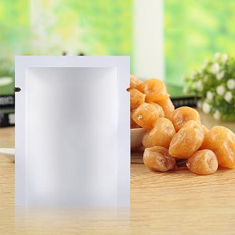 100pcs papel de aluminio Mylar bolsa de sellador al vacío ...