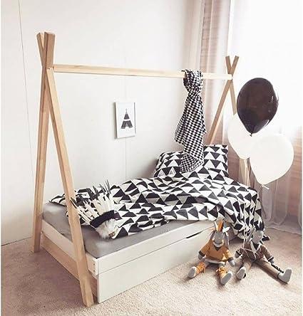 Cama Tipi con cajón 70x160 + somier: Amazon.es: Hogar