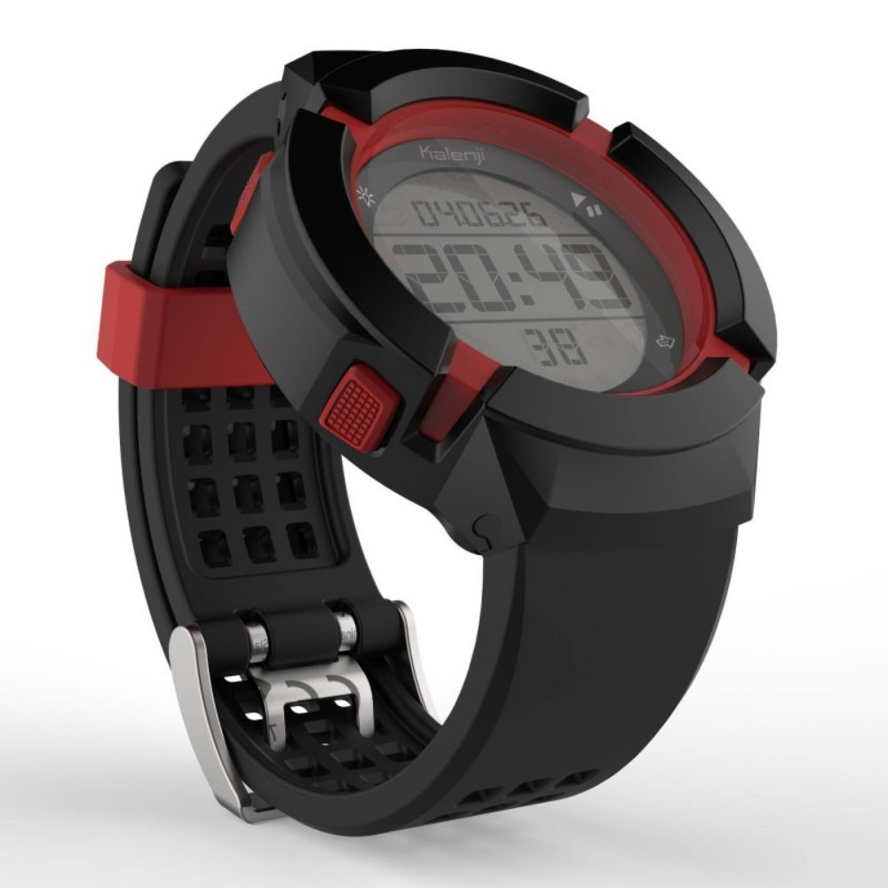 best website 99b62 49b3c Buy Kalenji W700XC Men's Running Stop Watch - Black and Red ...