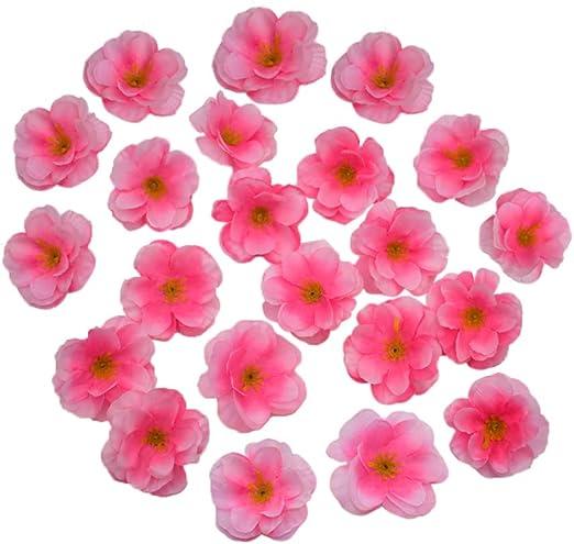 Amazon.com: HZOnline - Cabezales de flores artificiales de ...